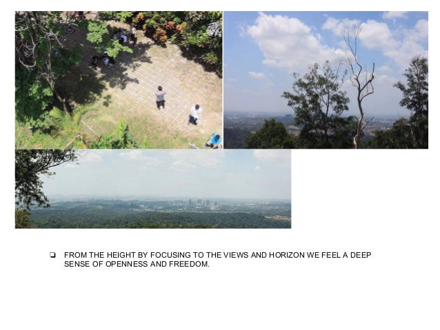 ❏ VIEW ANALYSIS FROM THE PROMINENT BUILDINGS TO THE BOTANICAL GARDEN