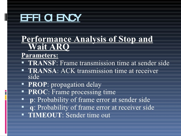 stop and wait arq pdf