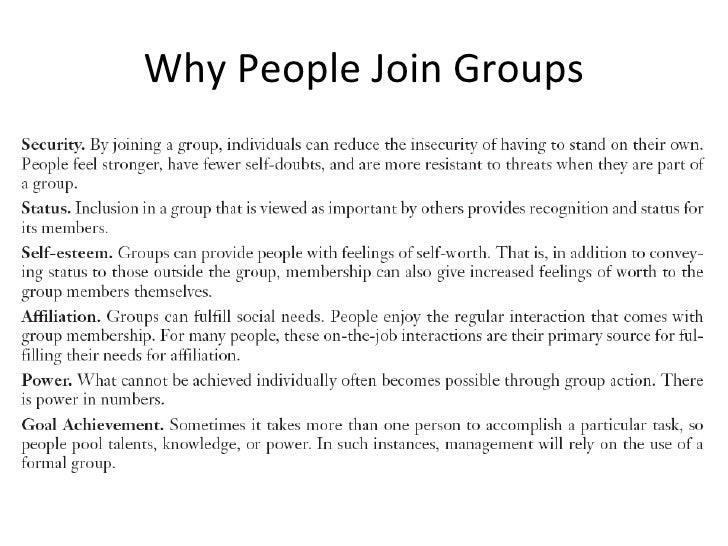 explain groups and group behavior Such groups may be classified as this evidence may help to explain why many how influential their reference group will be on their buying behavior.