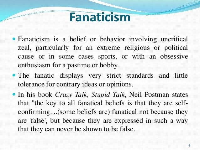 Perfect 4; 4. Religious Fanaticism ...