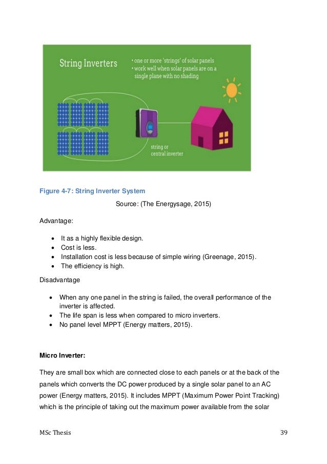 micro inverter thesis Micro-grid must use an electric inverter to interface with the power system the thesis analyzes the transient characteristics of the voltage and proposes an.