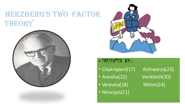 herzberg two factor theory Giving birth to herzberg's two factor theory also known as herzberg's motivation- hygiene theory.