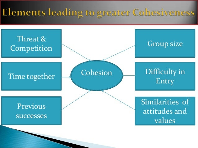 relationship between group norms cohesiveness