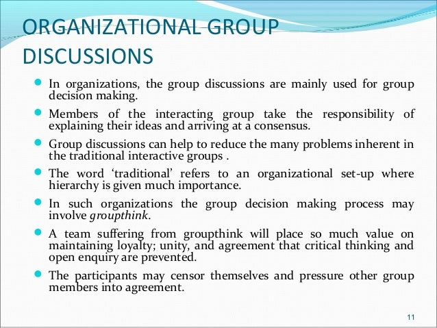 effectiveness of electronic group brainstorming There is another type of decision making process that involves a group of people who act collectively to analyze problems and evaluate alternate courses of.