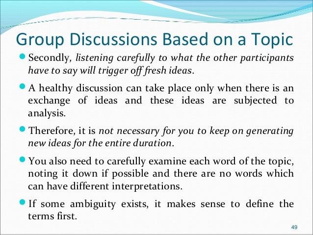 Group Discussion Konfispirit