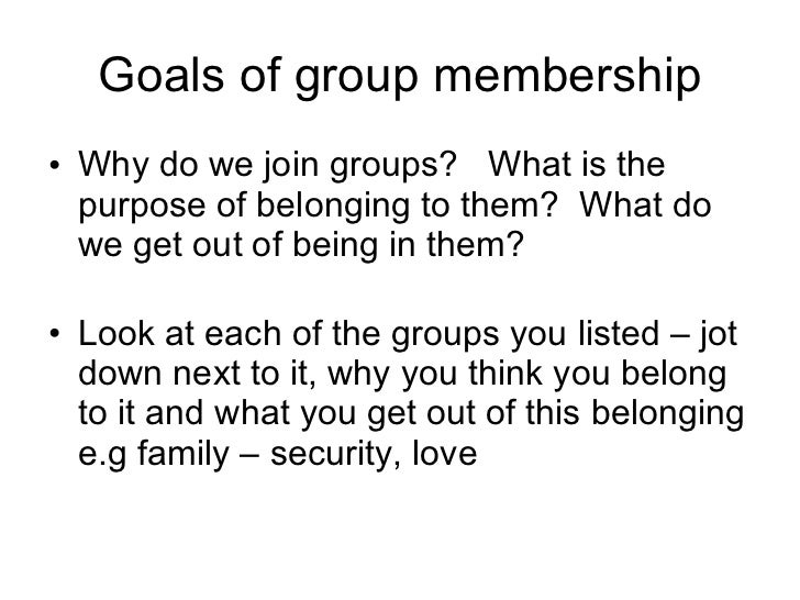 What are some types of group communication?
