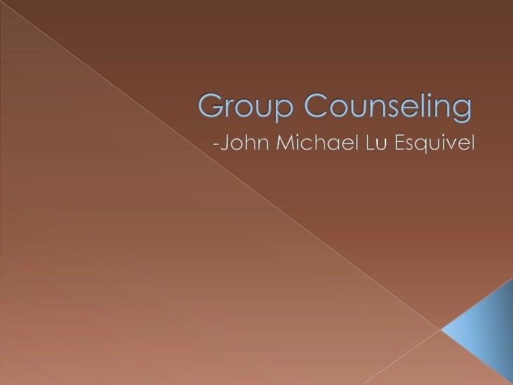 Group Counseling<br />-John Michael Lu Esquivel<br />