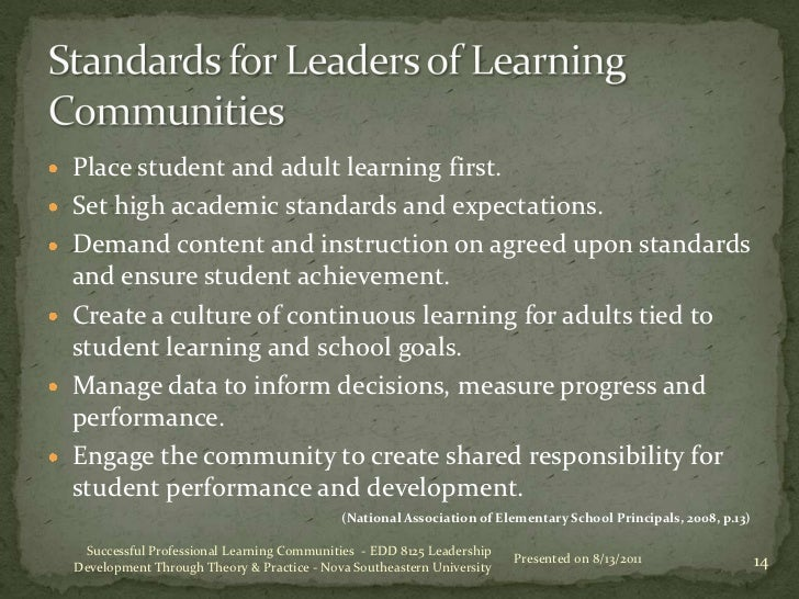 implementing the professional learning community ​professional learning communities (plcs) are an approach to school  cycles  of diagnosing student learning needs, and planning, implementing and.