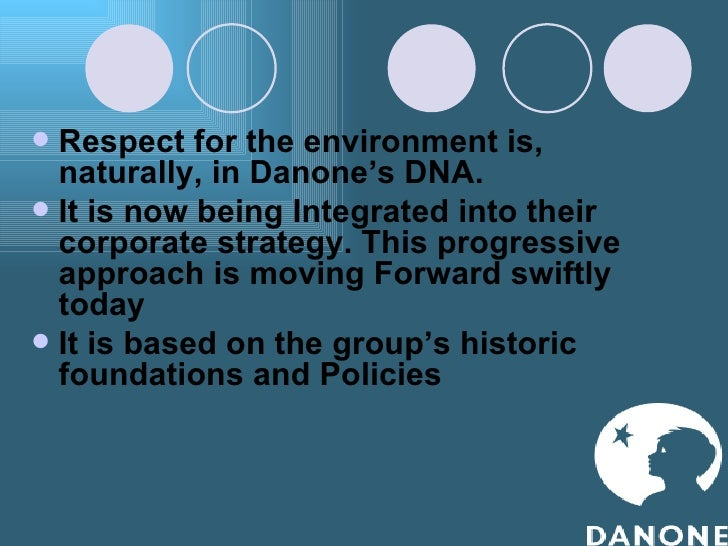 an analysis of danone group Chief executive emmanuel faber says food groups are having to adapt to 'an   emmanuel faber, danone chief, says the company is making a.