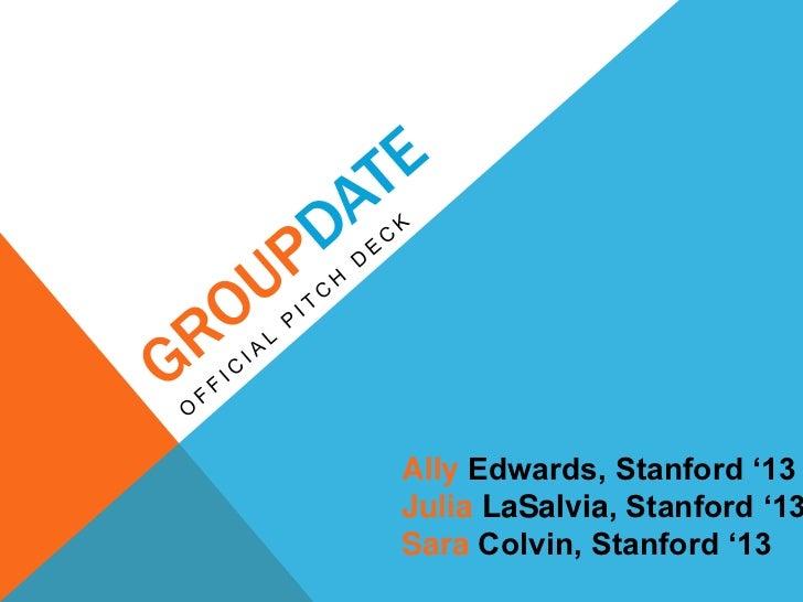 "Ally Edwards, Stanford ""13Julia LaSalvia, Stanford ""13Sara Colvin, Stanford ""13"