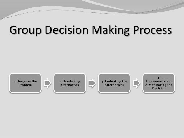individual decision making process paper Individual decision making is indeed an integral process in an organization what course of action individuals in an organization, at various levels, decide to take ultimately shapes the future of the organization in changing times, with ever increasing pressures of time and information, rising.
