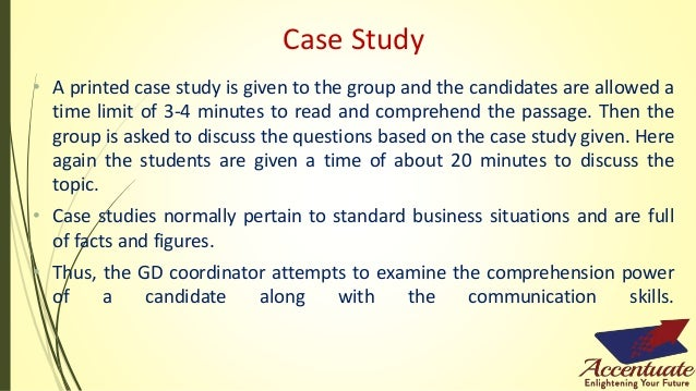 Case Study Examples - Interview Preparation| GD Topics