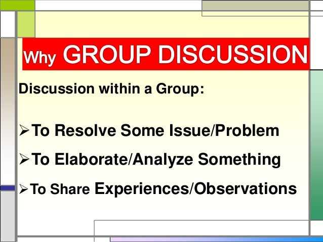 Group Discussion Slide 3
