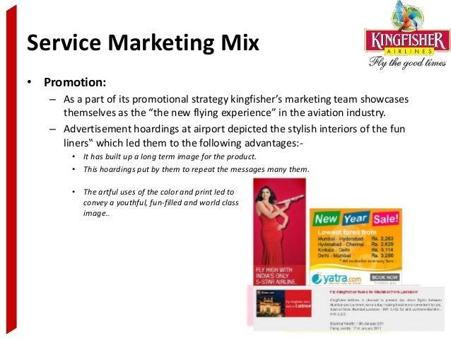 airline marketing mix