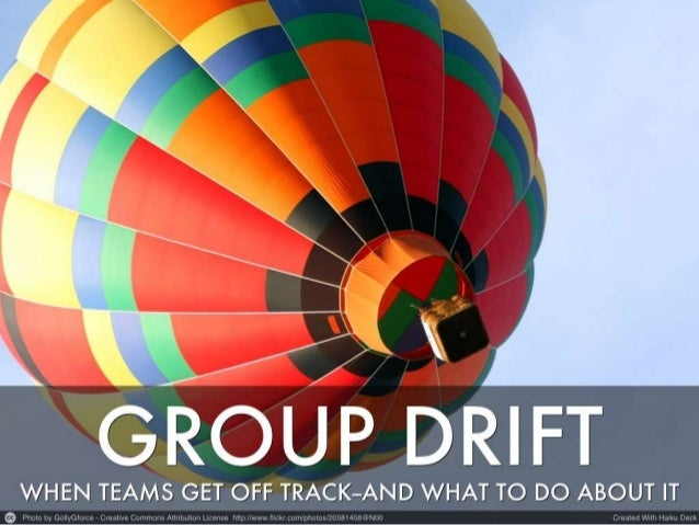 Group Drift: When Teams Get Off Track--And What to Do About It