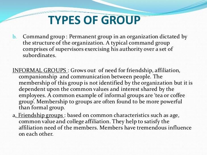 Group dynamics essay