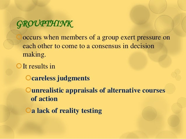 lack of cohesiveness in groups with diverse members Lack of team cohesion  lack of resources  group members need to count on other group members to do what they say they'll do, and group members have to believe in .
