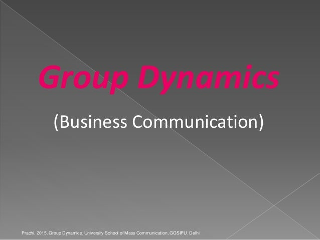 group dynamics in business