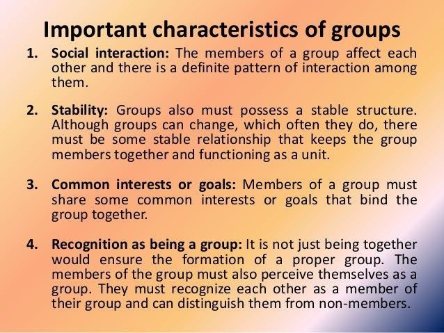 The Importance of Group Work