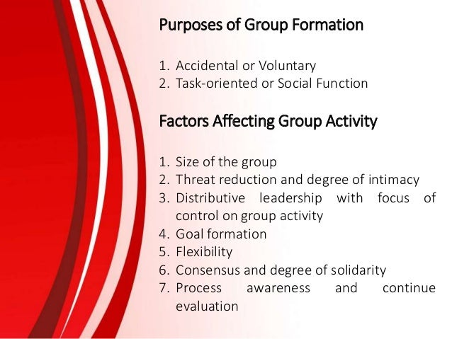 formation of group counseling Research finds that both individual and group therapy are relatively  of the 20th  century, and following his work, many other schools of therapy were formed.