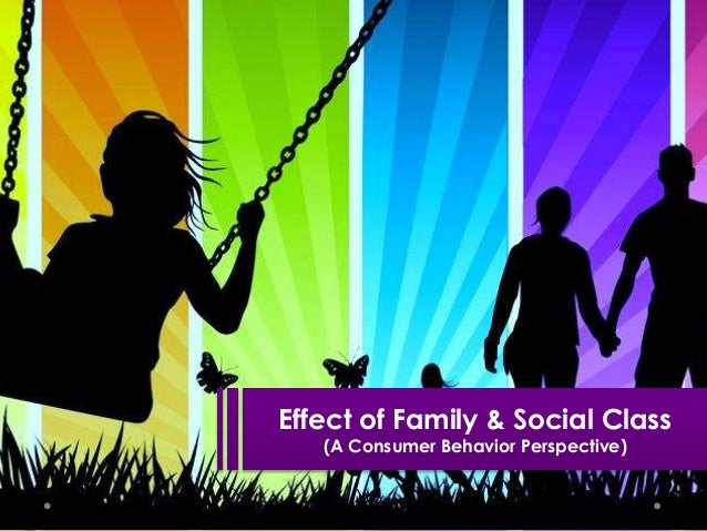 Effect of Family & Social Class (A Consumer Behavior Perspective)