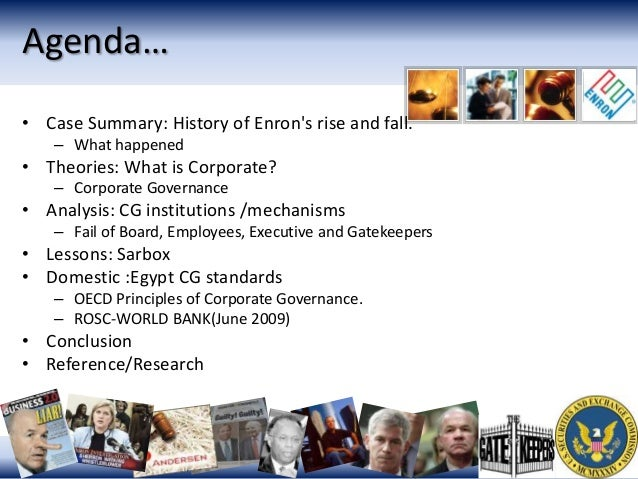 Ethical issues involved in enron scandal