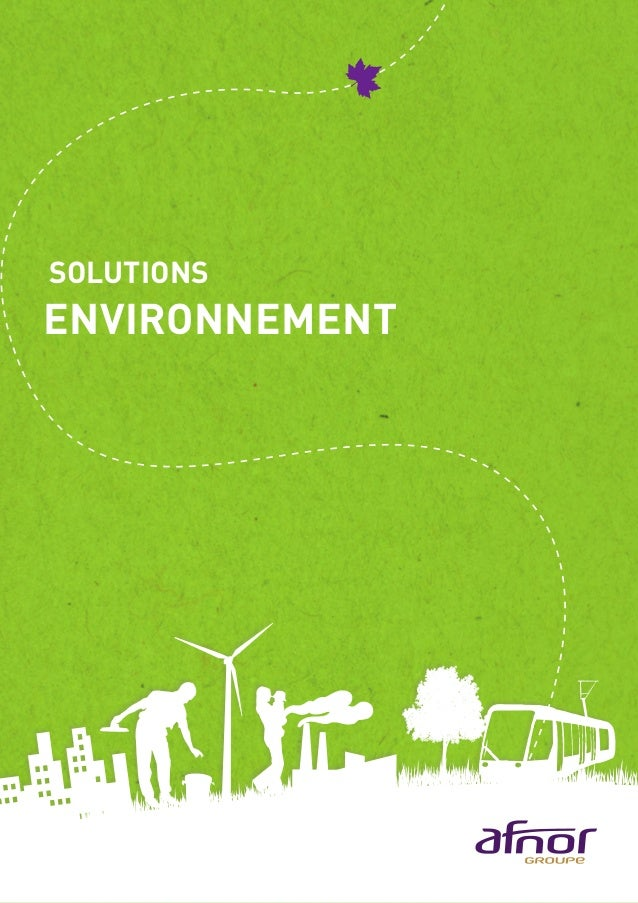SOLUTIONS ENVIRONNEMENT