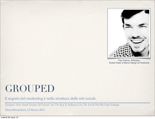 Paul Adams, @Padday,                                                                                       Global Head of ...
