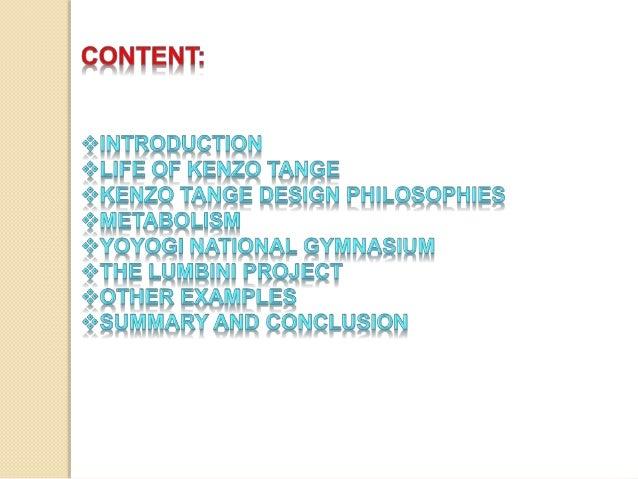 Kenzo Tange Slide 2