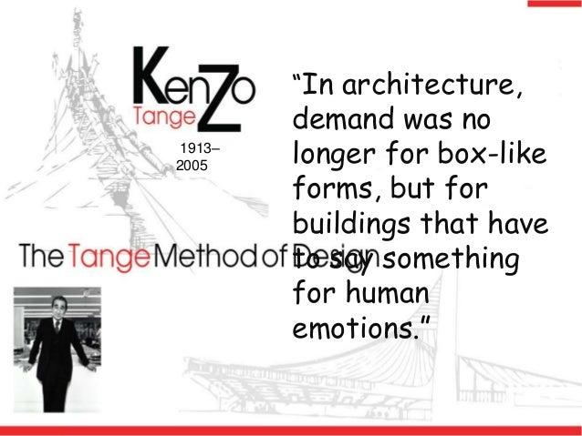 Kenzo Tange Slide 4