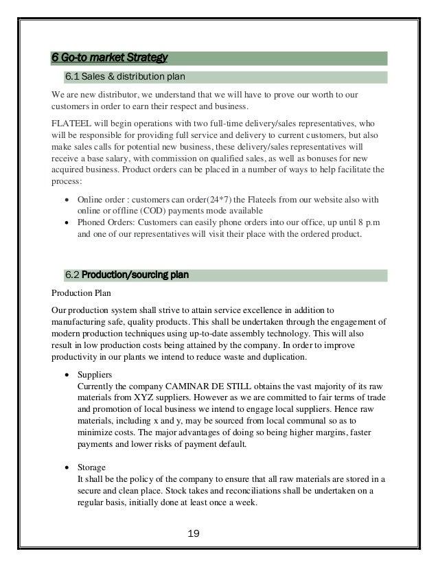 marketing strategy report pdf