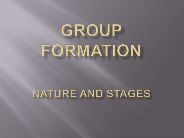    GROUP DYNAMICS IS CONCERNED WITH    THE INTERACTION OF INDIVIDUALS IN A    FACE TO FACE RELATIONSHIP.