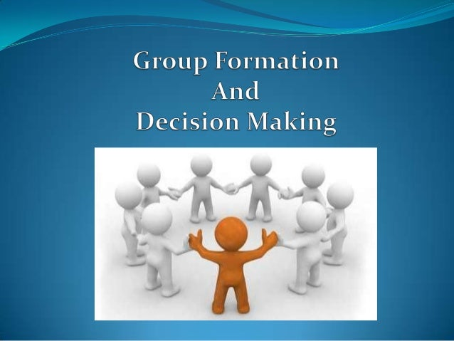 group decision-making essays The car parts manufacturing company was owned by mr george clarke the company's initial decision was taken by the owner itself the main aim of the report.