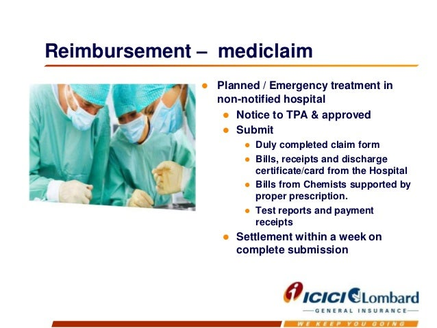 Group health insurance policy from ICICI LOMBARD