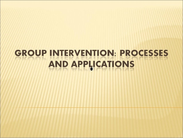 group intervention This study evaluates the effects of a group intervention for women sexually  abused in childhood or adulthood the sample consisted of 41.
