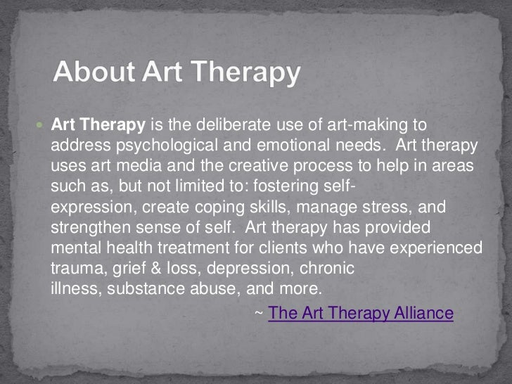 The History of Art Therapy (Dates Approx. by Year)