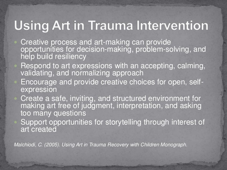 Group Art Therapy Interventions Amp Strategies Working With