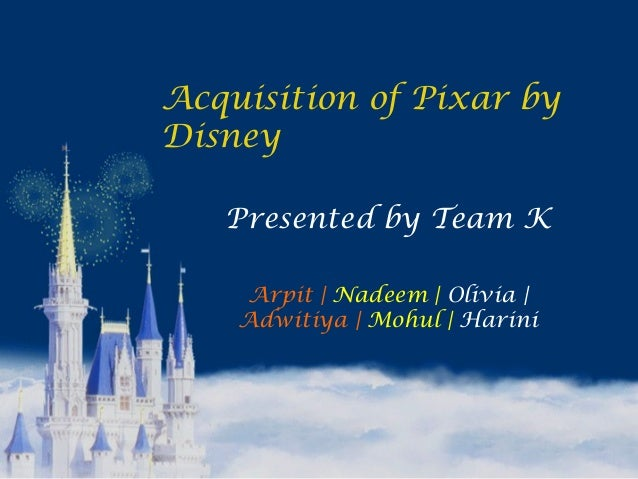 disney and pixar merger analysis