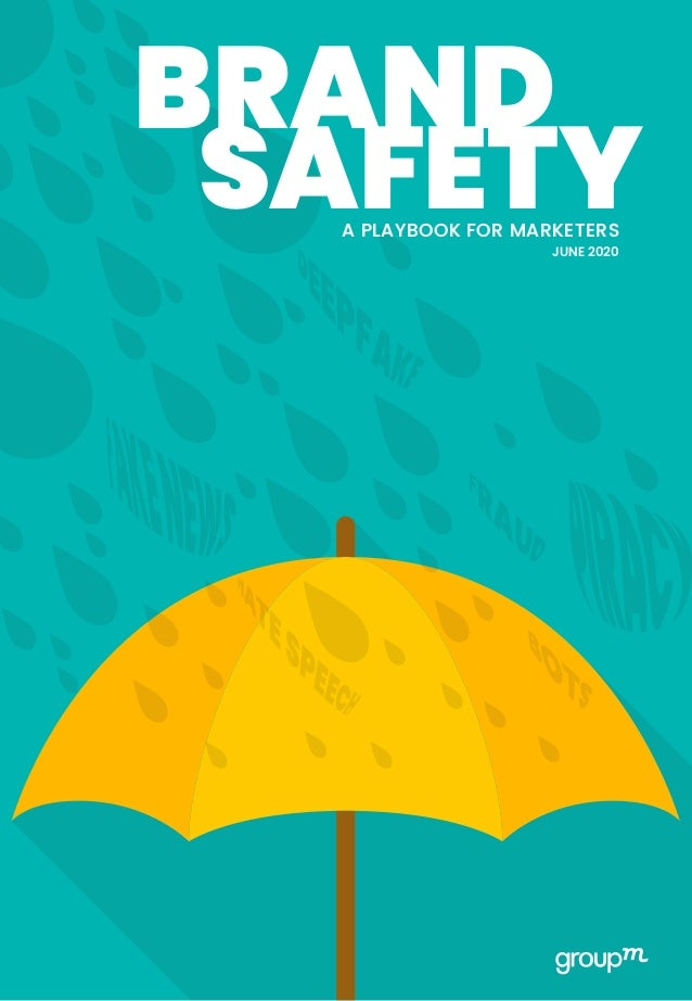 JUNE 2020 SAFETYA PLAYBOOK FOR MARKETERS BRAND