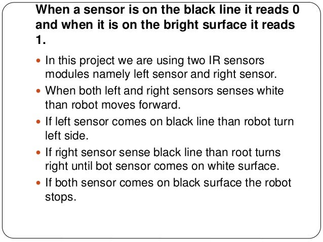 how to make a line follower robot