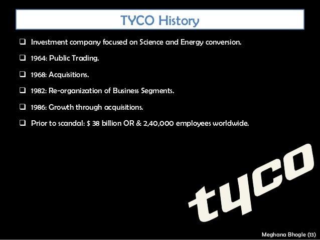 Tyco - A corporate governance failure Slide 3