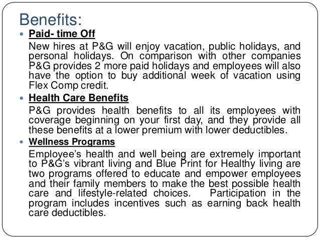 P&g employee stock options