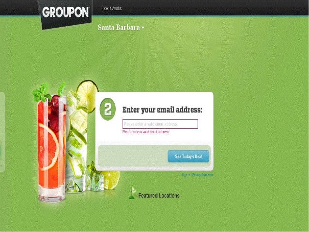 Groupon Case   Advertising   Ad Words SlideShare