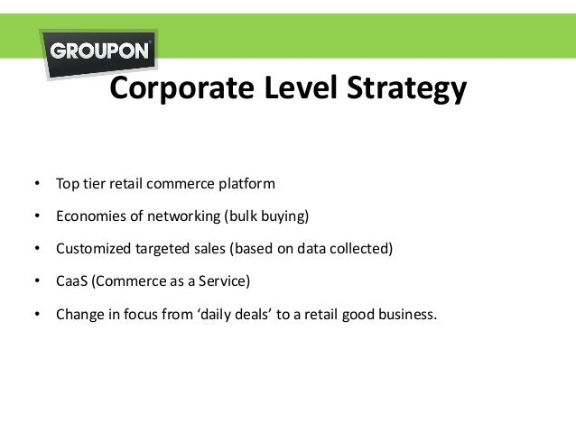 groupon corporate communication