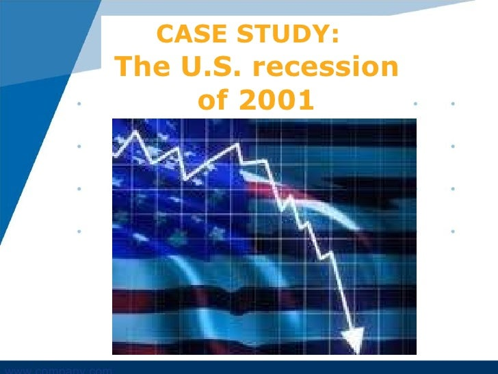 2001 recession The housing bubble in the us to the worst recession the world has  (most  notably in the us in the wake of the mild recession of 2001) the.