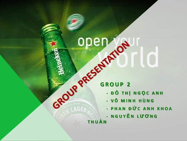 marketing research heineken Welcome to the global website for heineken international find information about our company, history, brands, strategy and careers here.