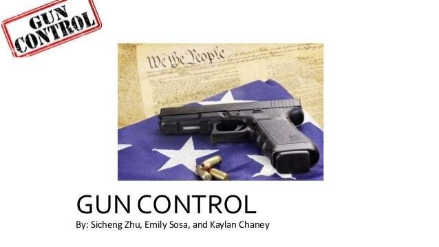 gun control pros and cons facts