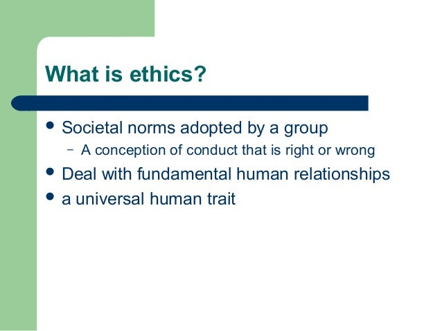 group 3 ethics project 1 The project was carried out in the period 2008 – 2011, and consisted of three  phases phase one a survey and group interviews focusing on:.