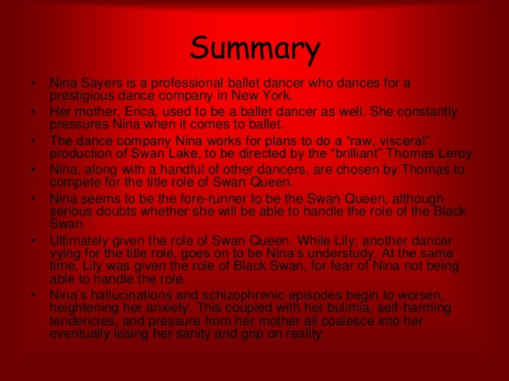 Black Swan Psychological Disorder