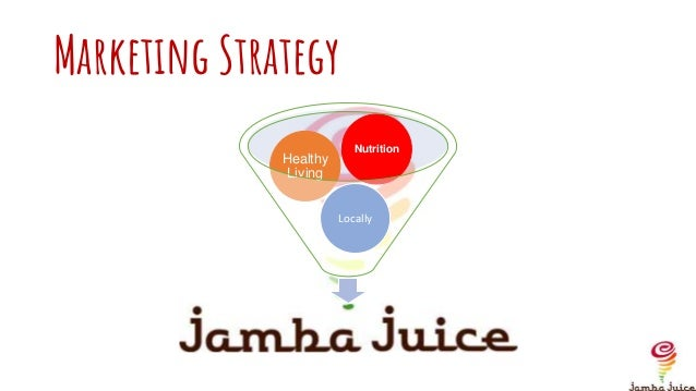 Jamba Juice Application